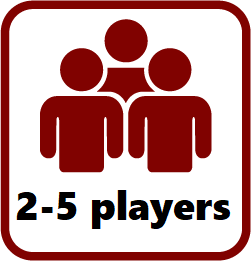 2 to 5 players